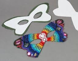 bead mask bead embroidered mask