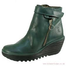 womens touch boots nz clearance zealand outlet fly shoes green