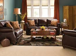 Leather Living Room Decorating Ideas by Teal And Rust Living Room This Is Soooo Perfect For What I U0027ve