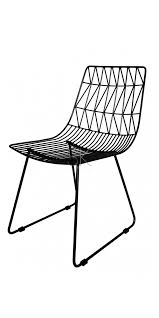 amazing ideas black wire chair cable chair eiffel wire dining