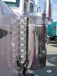 peterbilt air cleaner lights outlaw customs