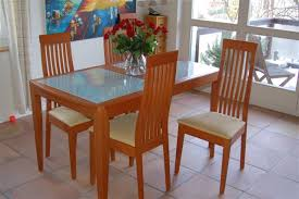 Glass And Wood Dining Tables Glass Dining Tables Discover What Causes Scratches And How To