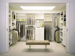 modern space studio closet space