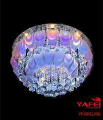Fancy Ceiling Lights Fancy Rgb Glass Ceiling Lights Tril Color Modern Style