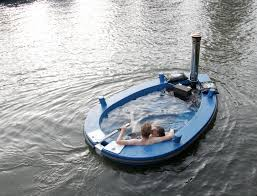 outrageous but awesome gifts wood fired tub boat simpleregistry