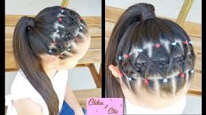 simple hairstyles with one elastic elastic bands braided headband hairstyles for school braided