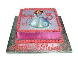 sofia cakes princess sofia on a butter cake