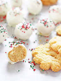 christmas sugar cookie truffles if you give a blonde a kitchen