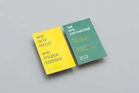 new brand identity for arco by raw color u2014 bp u0026o