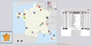 Nice France Map by France Ligue 1 2013 14 Location Map With 2012 13 Attendance Data
