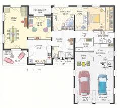 plan de maison plain pied 3 chambres avec garage plan de maison plain pied 3 chambres avec garage plan maison en l