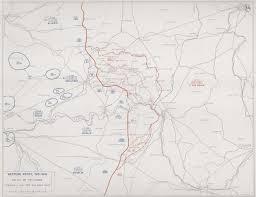World War One Map by First World War Com Battlefield Maps Western Front