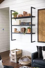 best 25 black shelves ideas on pinterest black floating shelves