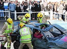 uk u0027s kent fire and rescue service to hold car crash demo in