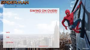 Spiderman Invitation Cards Free Printable Spiderman Homecoming Birthday Invitation Template