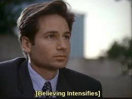 X Files Meme - the x files meme believing intensifies on bingememe
