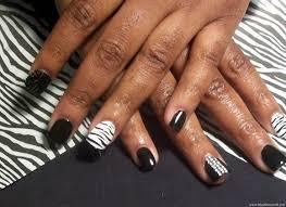 zebra nail design nail designs u0026 nail art