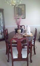 cherry colonial dining furniture sets ebay