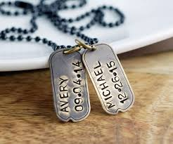 Personalized Dog Tags For Men Best 25 Mens Dog Tag Necklace Ideas On Pinterest Man Jewelry