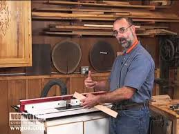 tongue and groove table saw how to use a one piece tongue and groove bit youtube
