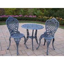 Edison Bistro Table Bistro Table Bistro Sets Patio Dining Furniture The Home Depot