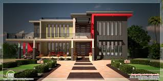beautiful contemporary luxury villa with floor plan kerala home