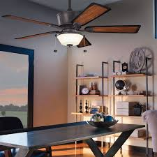 lighting home office decoration with kichler fans with lights