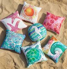 themed throws themed throws themed pillows pillows beachpillows