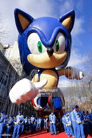sonic the hedgehog thanksgiving day parade photos and images