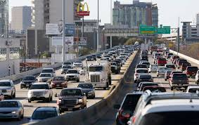 Dallas Map Traffic by State Accelerates Start Time For Major I 45 Improvement Project