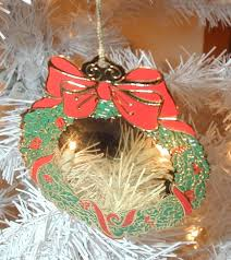 personalized christmas tree wreath ornament by custom creations
