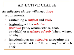 english clauses