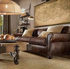 Best  Chesterfield Leather Sofa Ideas On Pinterest - Decorating ideas for living rooms with brown leather furniture