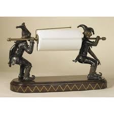 Interior Accessories Decorations Stunning Jester Paper Towel Holder Design Idea For