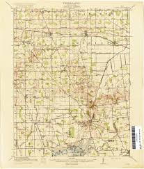 Map Qu Ohio Historical Topographic Maps Perry Castañeda Map Collection