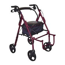 Drive Wheel Chair Drive Duet Transport Wheelchair Chair Rollator Walker 795bu