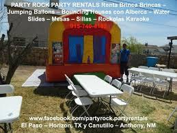 party rentals tx rockolas karaoke jumping ballons with pools water slides patio