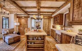 kitchen interiors warm cozy and inviting rustic kitchen interiors
