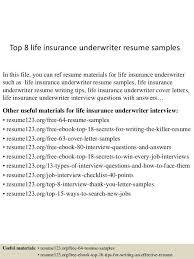 sample underwriter resume resume underwriter resume example