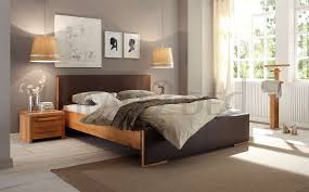 Beech Bed Frame Solid Wood Beds Hasena Woodline Svelta Solid Beech Platform