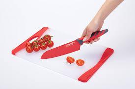 Kitchen Craft Knives Kitchen Craft Colourworks 3 Piece Non Slip Knife Starter Set
