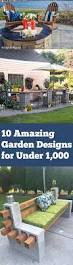 10 amazing garden ideas for under 1 000 bless my weeds
