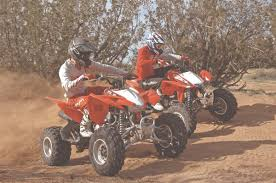 utv action magazine shootout honda trx400x vs trx450r