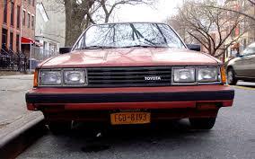 stanced toyota camry the street peep 1984 toyota camry le sedan