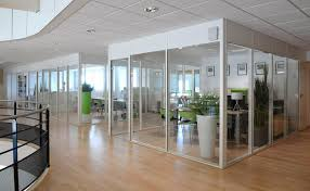 cloison vitr bureau cloison vitree interieure bois maison design bahbe com