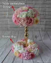 2017 wedding flower ring table centerpiece flower balls wedding