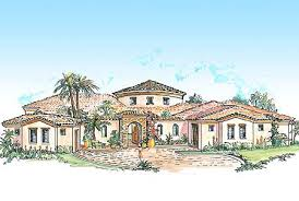 southwestern home plans plan w16313md courtyard house plan with casita e architectural