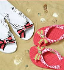offray ribbon offray ribbon flip flops diy fashion diy tech do it yourself