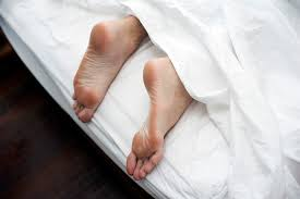 free image of lying in bed on a lazy day