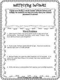 best 25 multiplying decimals ideas on pinterest math 5 decimal